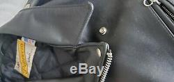 Schott PERFECTO 613 One Star Steerhide Leather Jacket Size 48