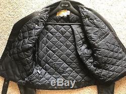 Schott Perfecto 118 Leather Motorcycle Jacket Black 46 Long