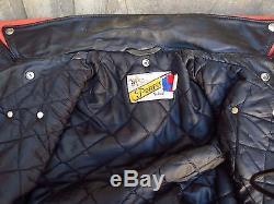 Schott Perfecto 618 Motorcycle Leather Jacket Black 44