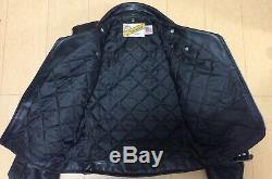 Schott Perfecto 618 size 38 Mortorcycle Steerhide Leather Jacket