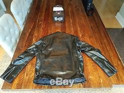 Schott Perfecto 641HH Horsehide Moto Jacket Sz 40