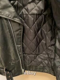 Schott Perfecto Leather Jacket 118 Size 44