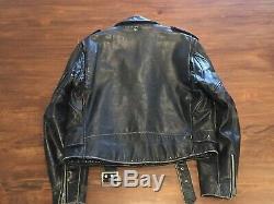 Schott Perfecto Leather Jacket Mororcycle Brando