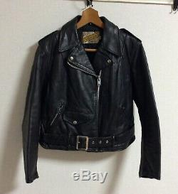 Schott Perfecto Mortorcycle Leather Jacket Bull tag