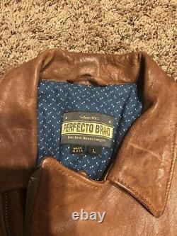 Schott Perfecto P264 Lamb Skin Large Leather Jacket