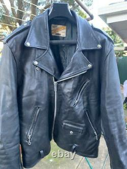 Schott Perfecto Style Captain G Leather motorcycle jacket
