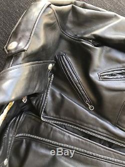 Schott perfecto Leather Motorcycle jacket 36