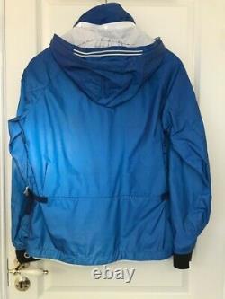 Stone Island SS11 Reflective jacket blue massimo osti glass