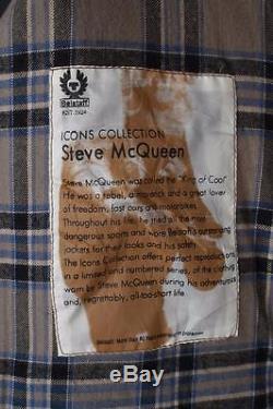 Stunning BELSTAFF Cougar'Steve McQueen 1964' Motorcycle WAXED Jacket Medium