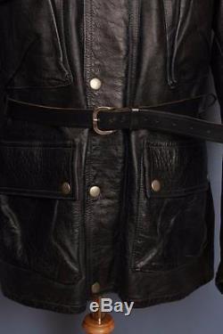 Superb Mens BELSTAFF Panther Leather Motorcycle Jacket Size XLarge