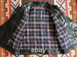 Tenjin Works Horsehide Leather Jacket Tenderloin RRL