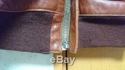 The REAL McCOY'S A-2 Flight Jacket Coat Size-38 Used from Japan F/S