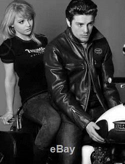 Triumph Motorcycle Genuine Leather Jacket Rathbone by Lewis