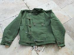 True Vintage Jacket Motorrad Jacke Canvas 18OZ Motorcycle Biker Army Heritage N4