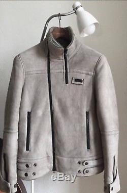 UNDERCOVER 09aw Mouton Leather Jacket Size 2 Jun Takahashi Raf Simons Rick Owens