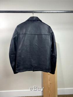 Undercover Undercoverism J9204 Leather Motorcycle riders jacket Perfecto Size S