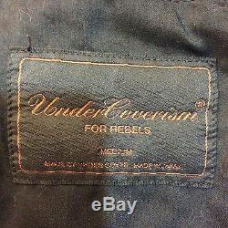 Undercover Undercoverism Removable Sweat Hoodie Motorcycle Padded Jacket Supreme