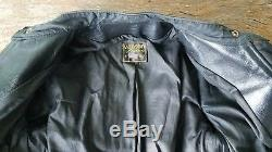 VANSON LEATHER Model A motorcycle jacket, excellent, clean, 40, low reserve