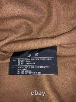 VINTAGE Ladies Harley-Davidson Leather Wool Lined Riding Jacket Size XS
