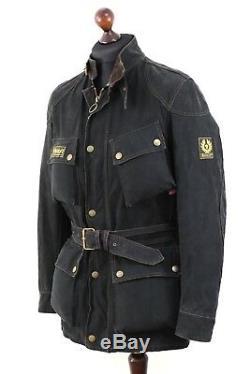 VNTG BELSTAFF Mens TRIALMASTER Professional CHE GUEVARA 1948 Wax Jacket size M