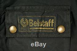 VTG 70s BELSTAFF TOURMASTER WAXED TROPHY MOTORCYCLE JACKET MADE IN ENGLAND 40
