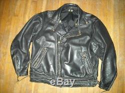 VTG 80s 90S MENS 42 LARGE LANGLITZ COLUMBIA MOTORCYCLE BIKER JACKET