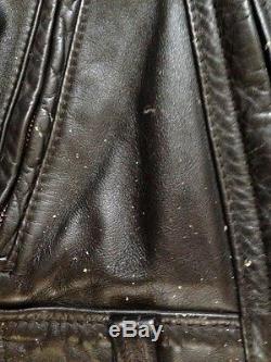 VTG Langlitz Motorcycle jacket Columbia 60s Padded WOW
