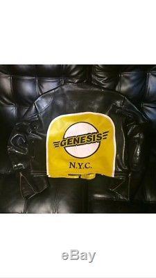 Vanson Genesis NYC Leather Motorcycle Jacket Size Large 46