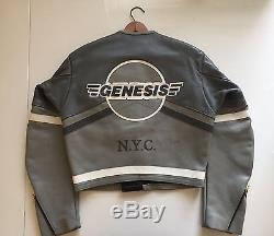 Vanson Leather Genesis NYC Race Jacket Size 38