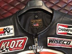 Vanson Leather Jacket