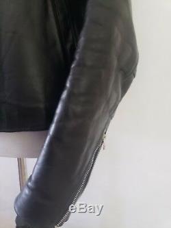 Vanson Leather Jacket Coat Mercury Mens Medium 40 Excellent leathers Heavyweight