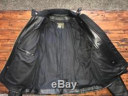 Vanson Leather Jacket Model B 42 44 Competition Weight
