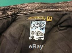 Vanson Leathers Johnson Motors Bud Ekins Jacket XL