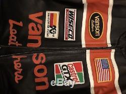 Vanson leather jacket 42