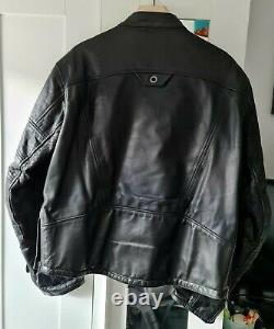 Very rare Roland Sands Ronin Leather Jacket size L D30 Armour included