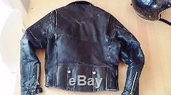 Vintage 1950's Harley-Davidson Cycle-Champ Horsehideleather motorcycle jacket