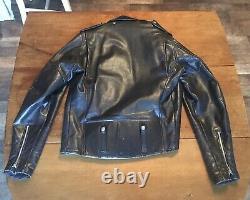 Vintage 1960-70s AMF Harley Davidson Leather Jacket size 40 Tall