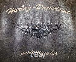 Vintage 1994 Harley-Davidson mens L leather motorcycle jacket