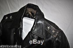 Vintage 50's Extremely Rare Leather Motorcycle Jacket Boone Schott Buco Hercules