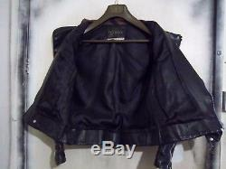 Vintage 60's Belstaff Leather Perfecto Motorcycle Jacket Size S