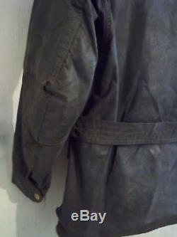 Vintage 60's Belstaff Trialmaster Sammy Miller Waxed Motorcycle Jacket Size M