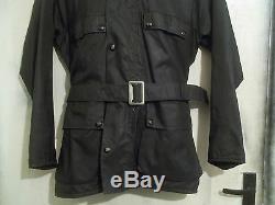 Vintage 60's Lewis Leathers Aviakit Mudlarker Motorcycle Jacket Size M CLIX Aero