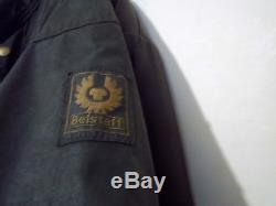 Vintage 70's Belstaff Roadmaster 11 Waxed Motorcycle Jacket Size 40