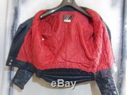 Vintage 70's Tt Leathers Perfecto Motorcycle Jacket Size 38 Ace Patina