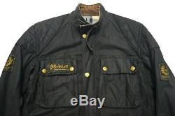 Vintage 70s Belstaff Trialmaster Professional Waxed Motorcycle Jacket S-M