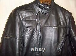 Vintage 80's Belstaff Leather Perfecto Motorcycle Biker Jacket Size 40