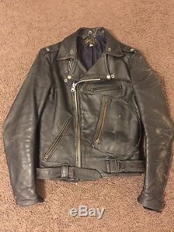 Vintage BUCO RARE VTG BUCO STEERHIDE MOTORCYCLE JACKET SIZE 36 J82 J24 J100