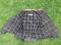 Vintage Barbour International Wax Jacket 1950's Barbour Suit Motorcycle Barbour