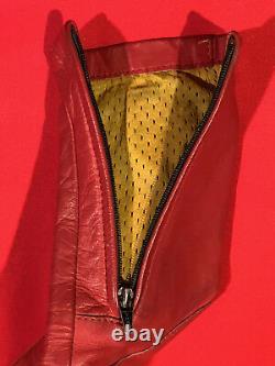 Vintage Bates Leather Motorcycle Racing Xs Jacket