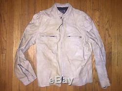 Vintage Buco Harley Davidson Motorcycle Cafe Racer Leather Jacket USA Sz. 42